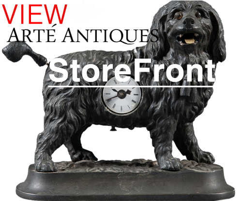 Arte antiques storefront on modernism