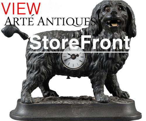 Arte antiques storefront on modernism