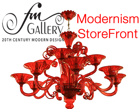 Fm gallery on modernism storefront link