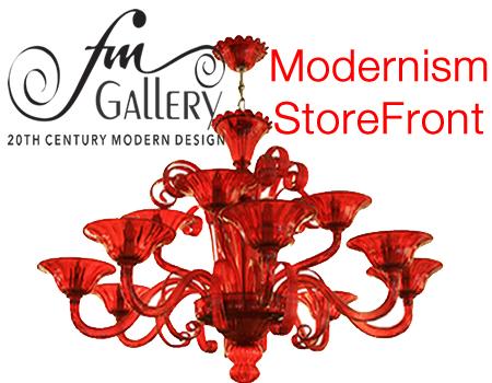 Fm gallery on modernism storefront link