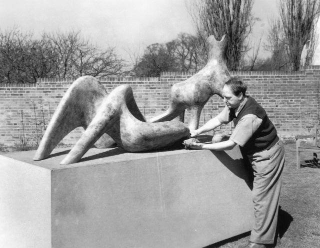 henry moore modernism