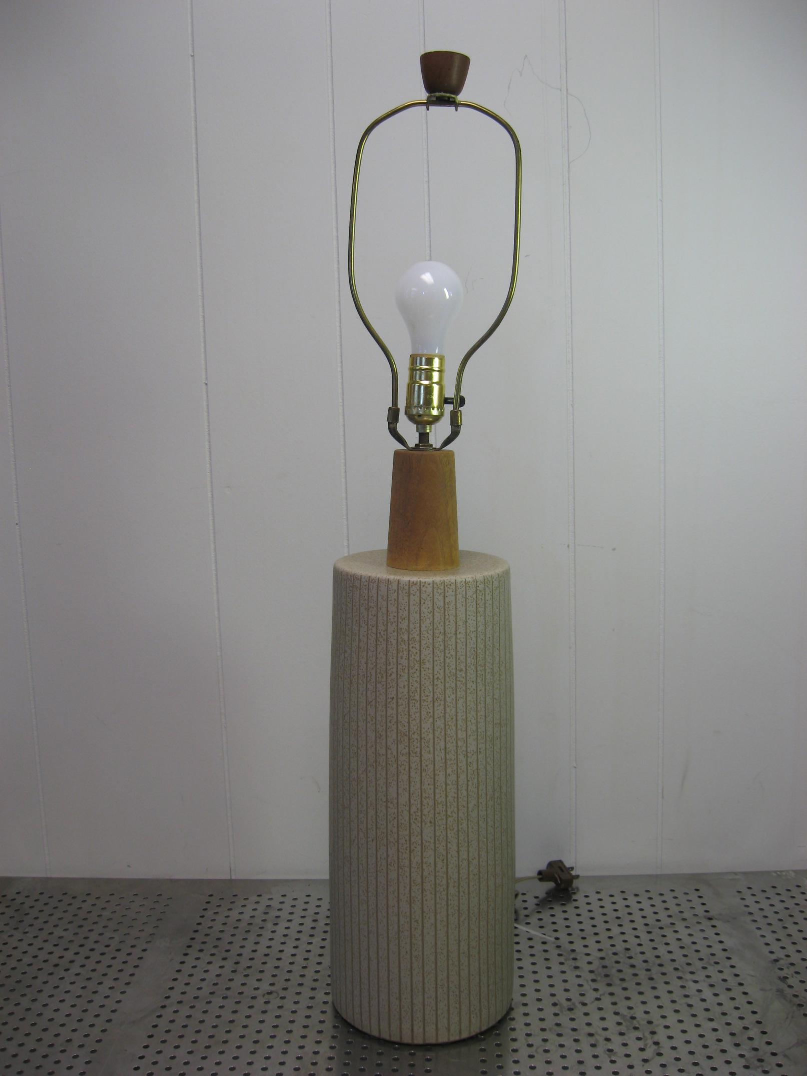 Vintage 1960 S Martz Marshall Studios Ceramic Table Lamp