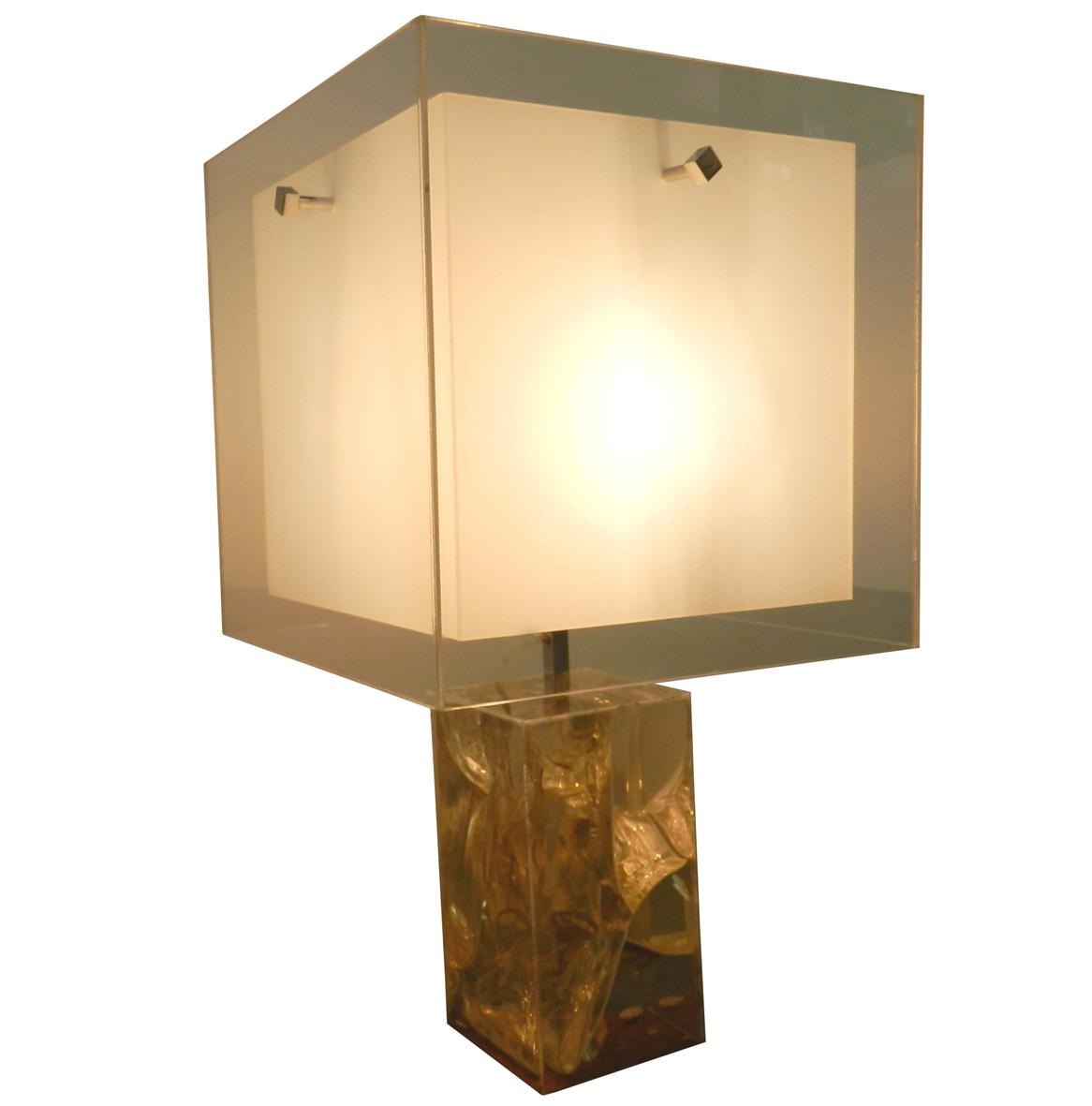 Pierre giraudon fractal resin table lamp modernism pierre giraudon fractal resin table lamp aloadofball Gallery