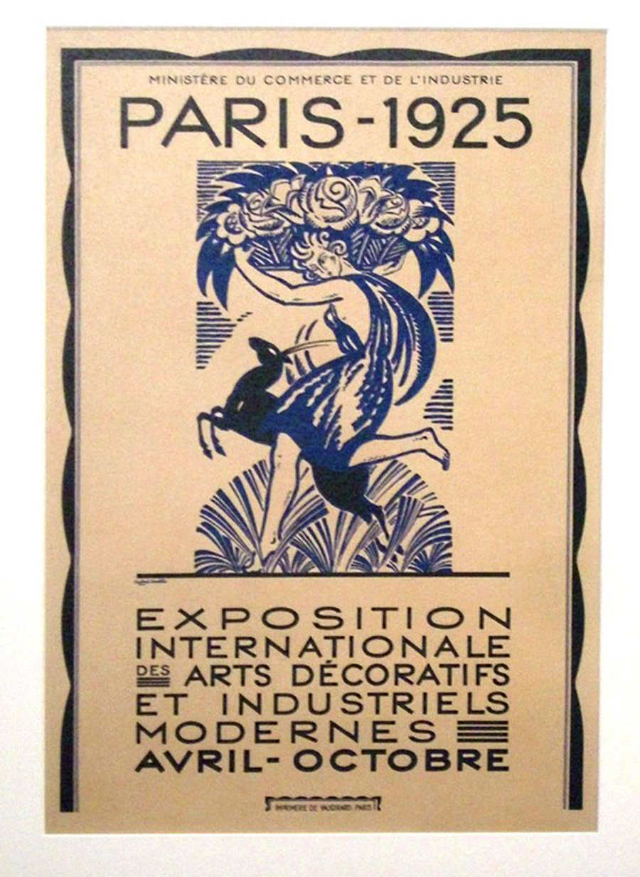 1925 Paris Exposition Graphic Art And Poster Collection