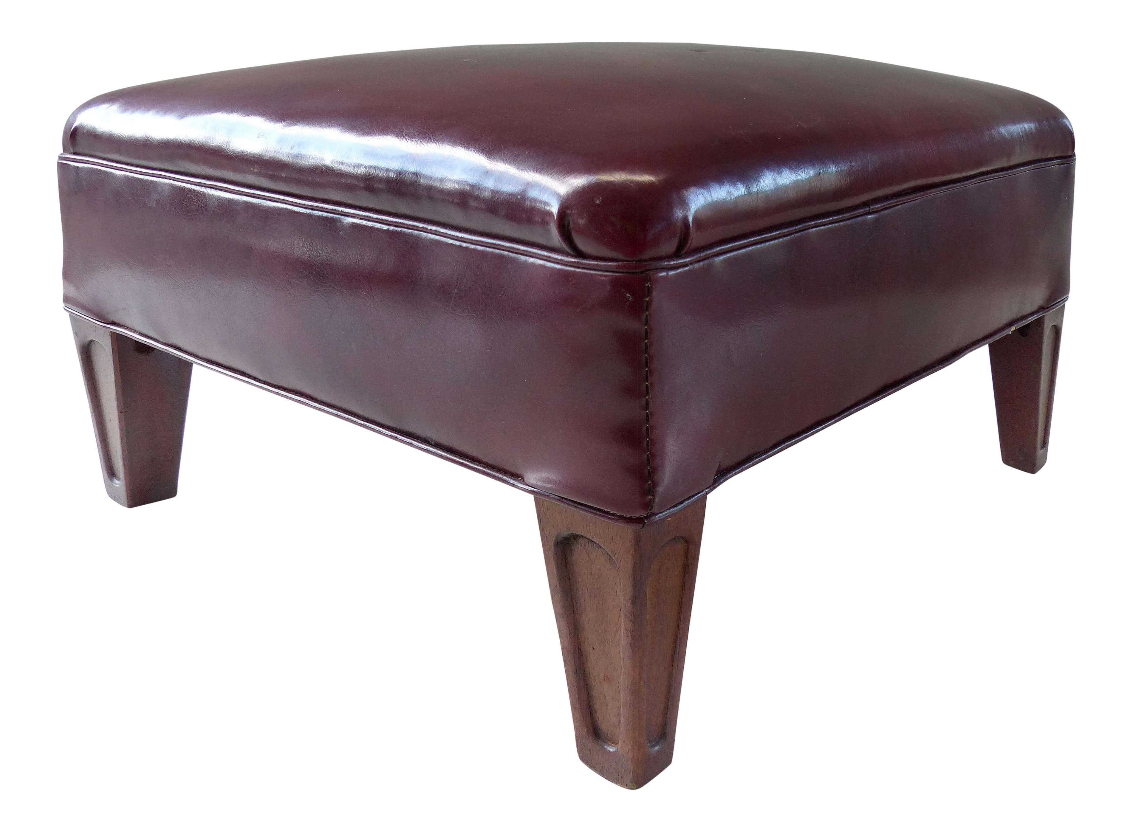 Ottoman Coffee Table Leather