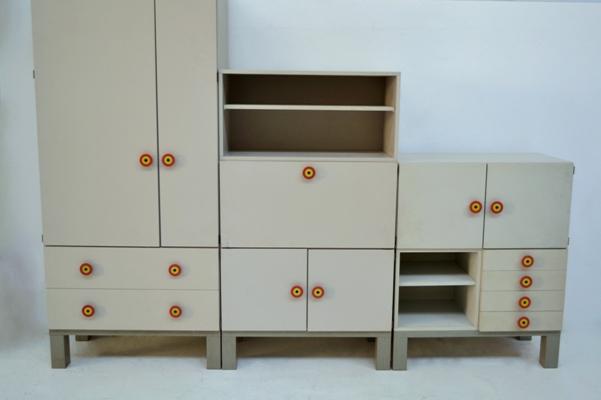 Furniture Cubirolo Ettore Sottsass Poltronova Modernism