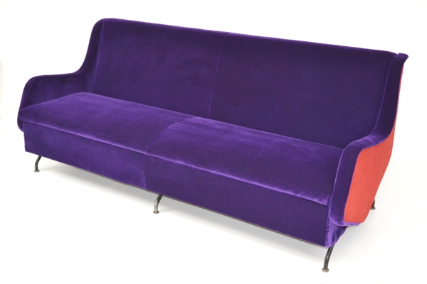 Sofa bed 60 39 s modernism for Sofa bed 60 inches