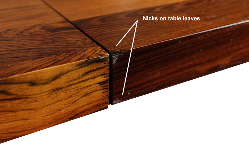 c5d8558850c36 Milo Baughman Rosewood Hickory and Walnut Dining Table