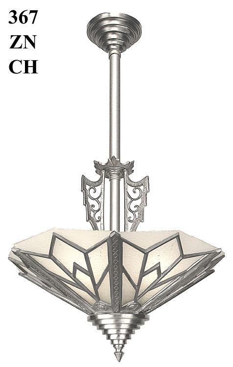 Art Deco Ceiling Light Fixtures – Art Deco Chandelier Lighting