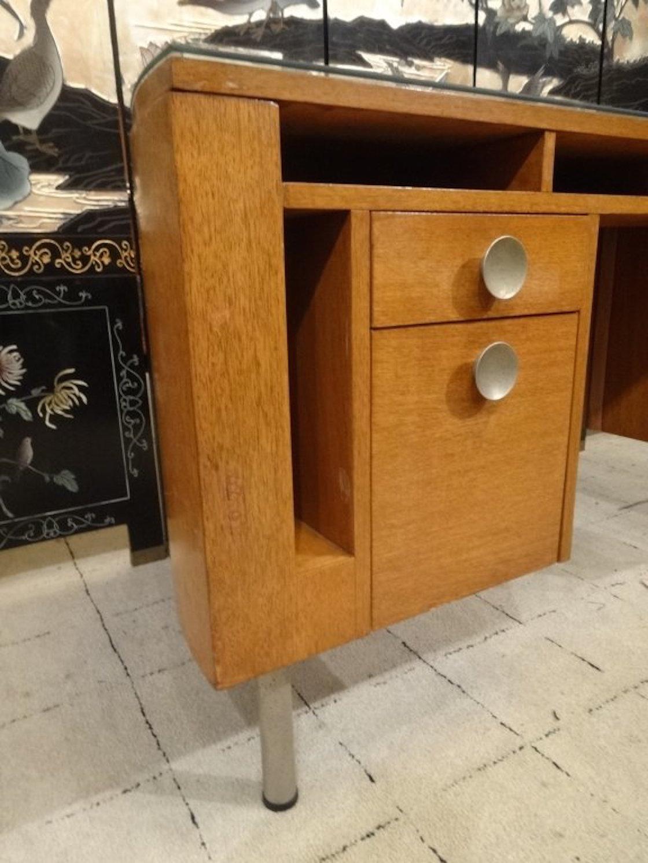 Exceptionnel Gilbert Rohde Demi Lune Desk For Herman Miller