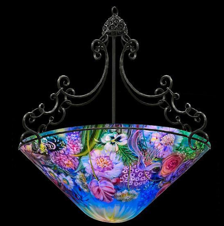 Original ulla darni 32 inches cone chandelier modernism original ulla darni 32 inches cone chandelier aloadofball Images