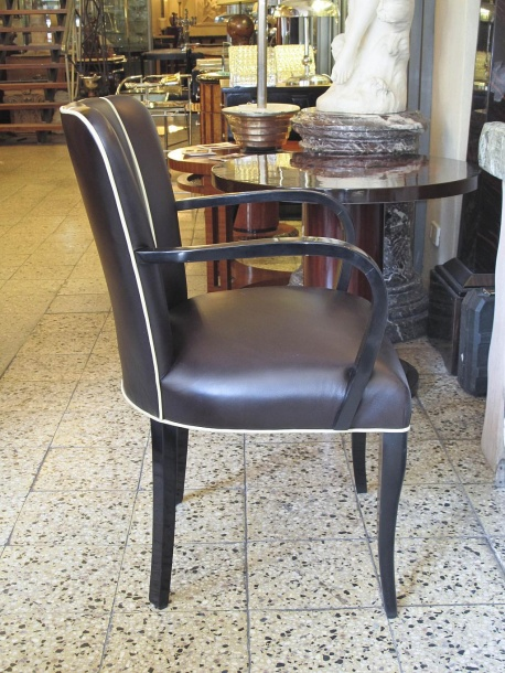 12 french art deco dining chairs and two arm chairs en suite art deco dining arm