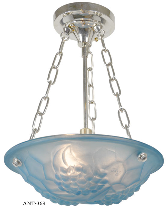French art deco degue ceiling bowl chandelier modernism french art deco degue ceiling bowl chandelier aloadofball Images