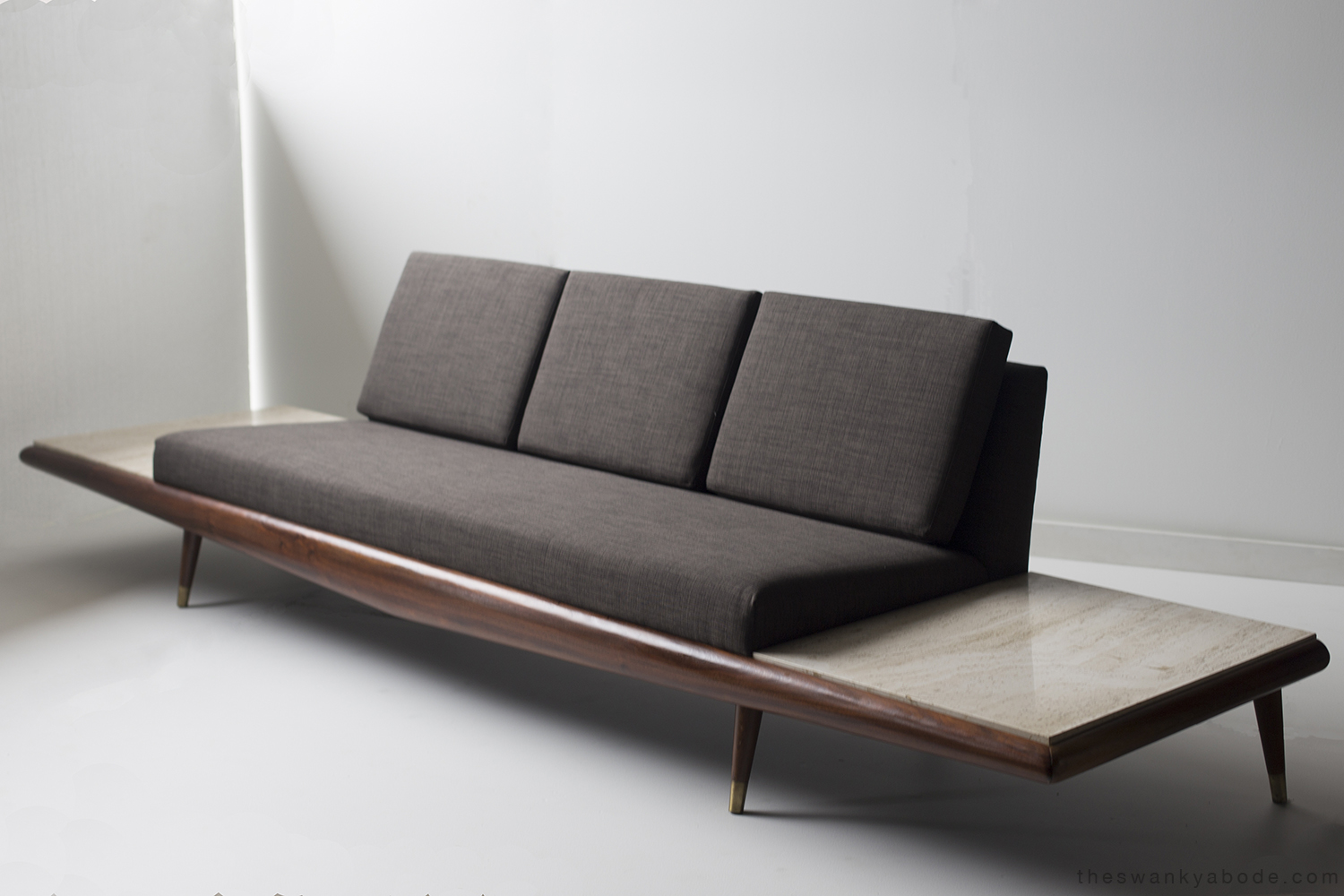 Adrian pearsall sofa for craft associates inc modernism - Modernist sofa ...