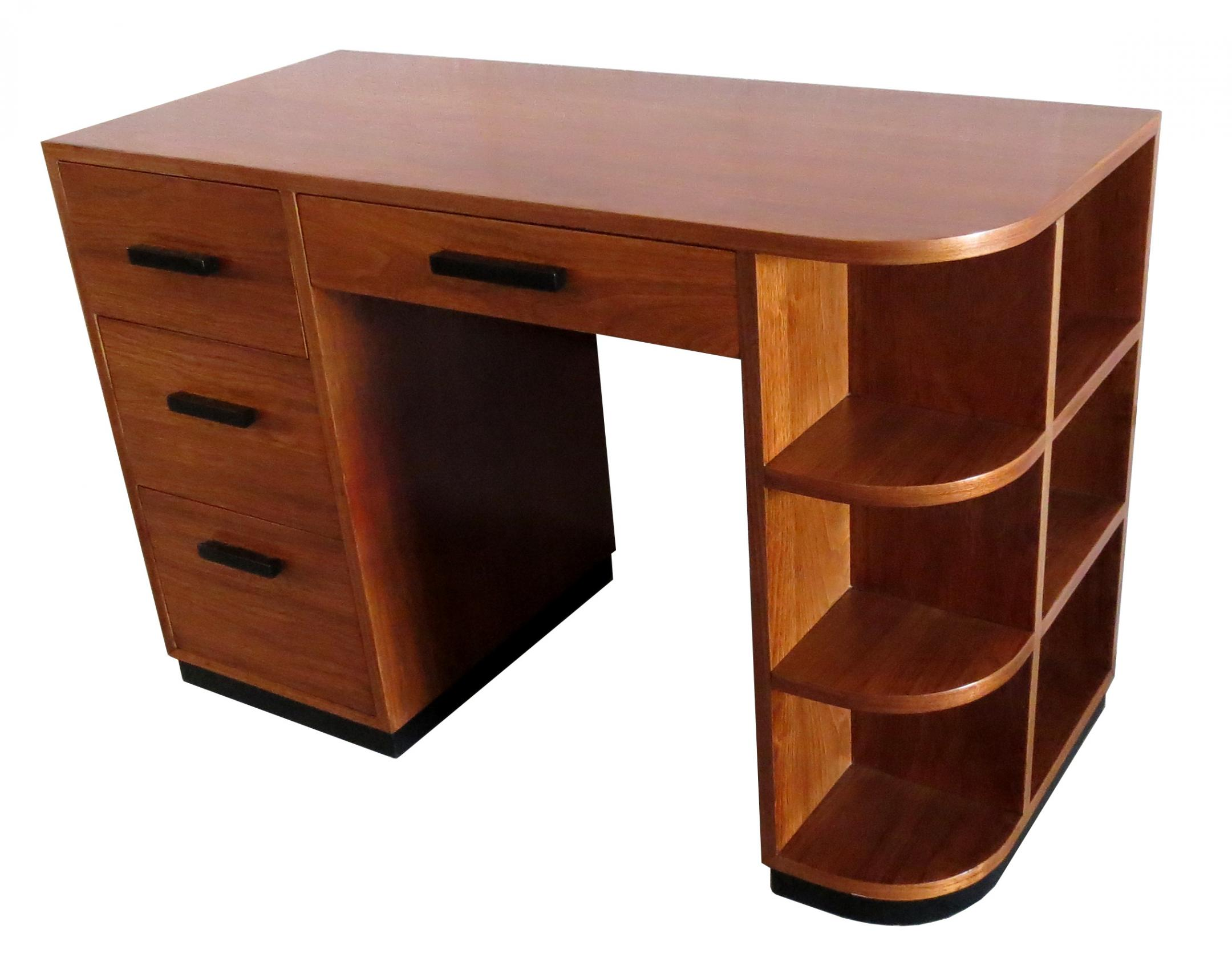 American Art Deco Desk By Modernage New York Modernism