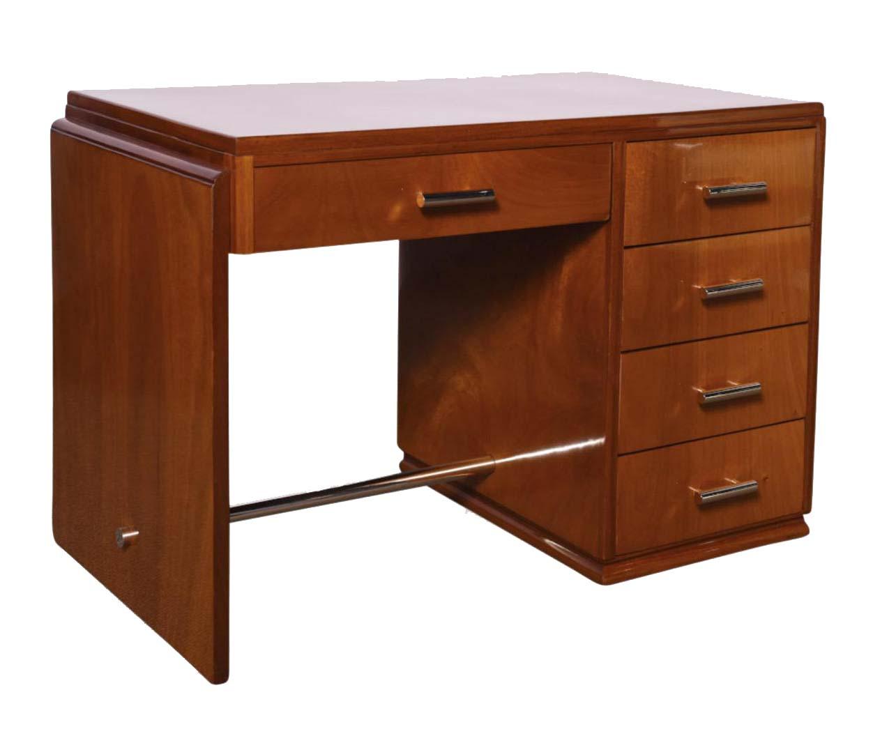 Art Deco Desk In Gany
