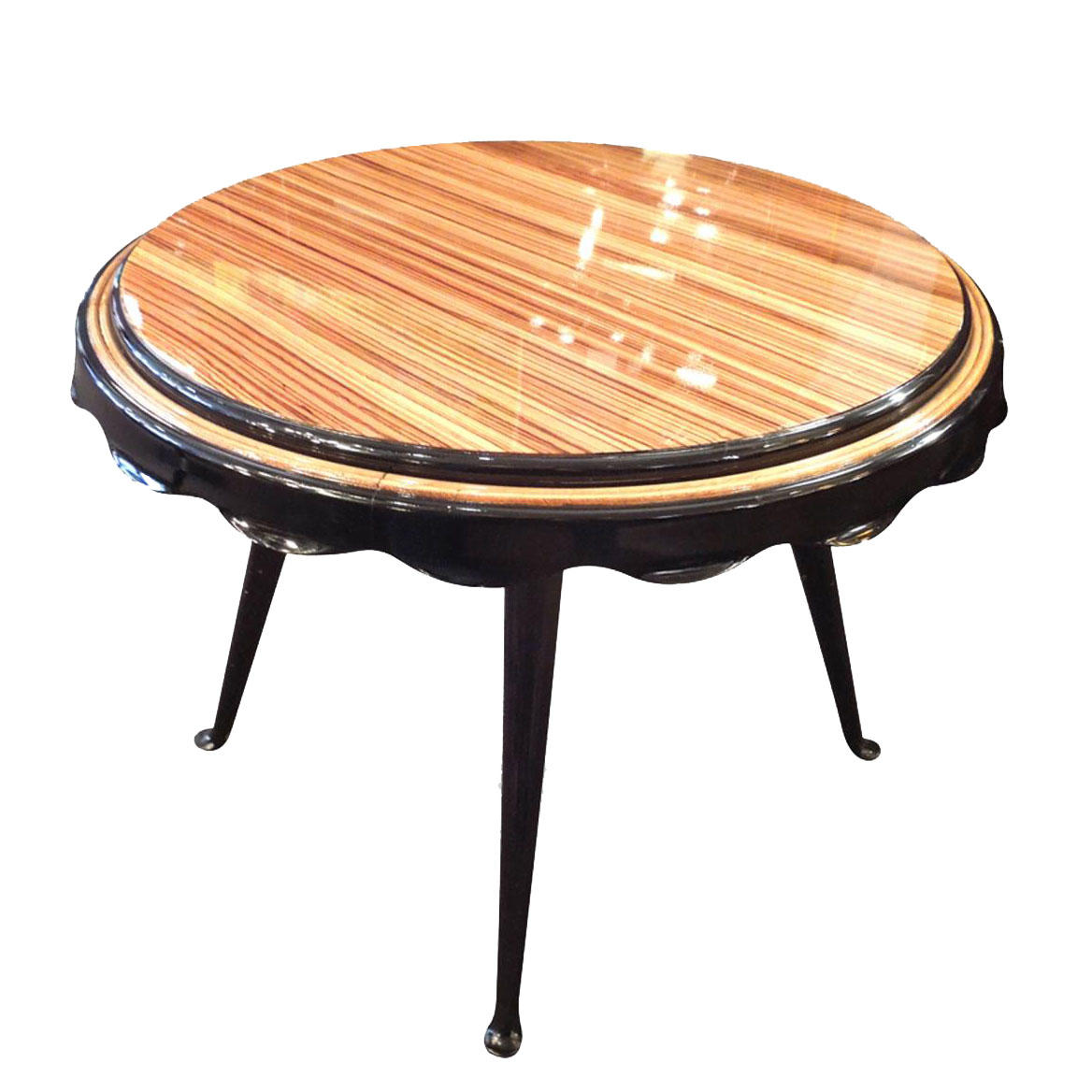 art deco gueridon table modernism. Black Bedroom Furniture Sets. Home Design Ideas