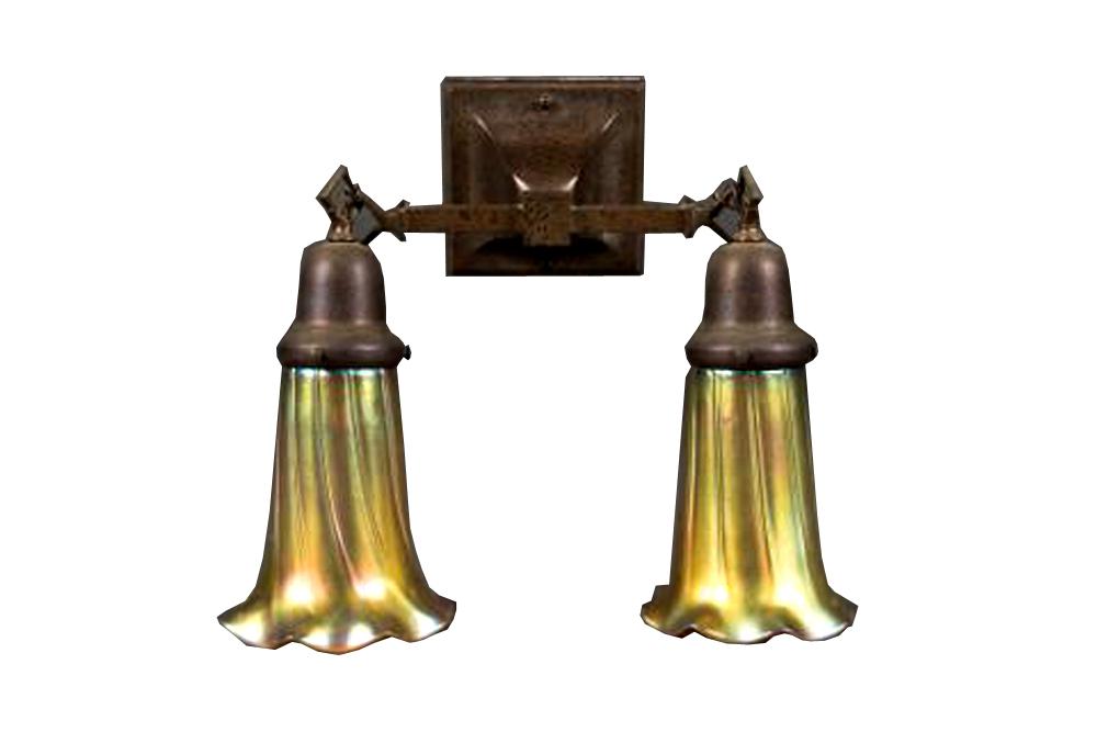 An American Art Nouveau Style Sconce By Lundberg Studios