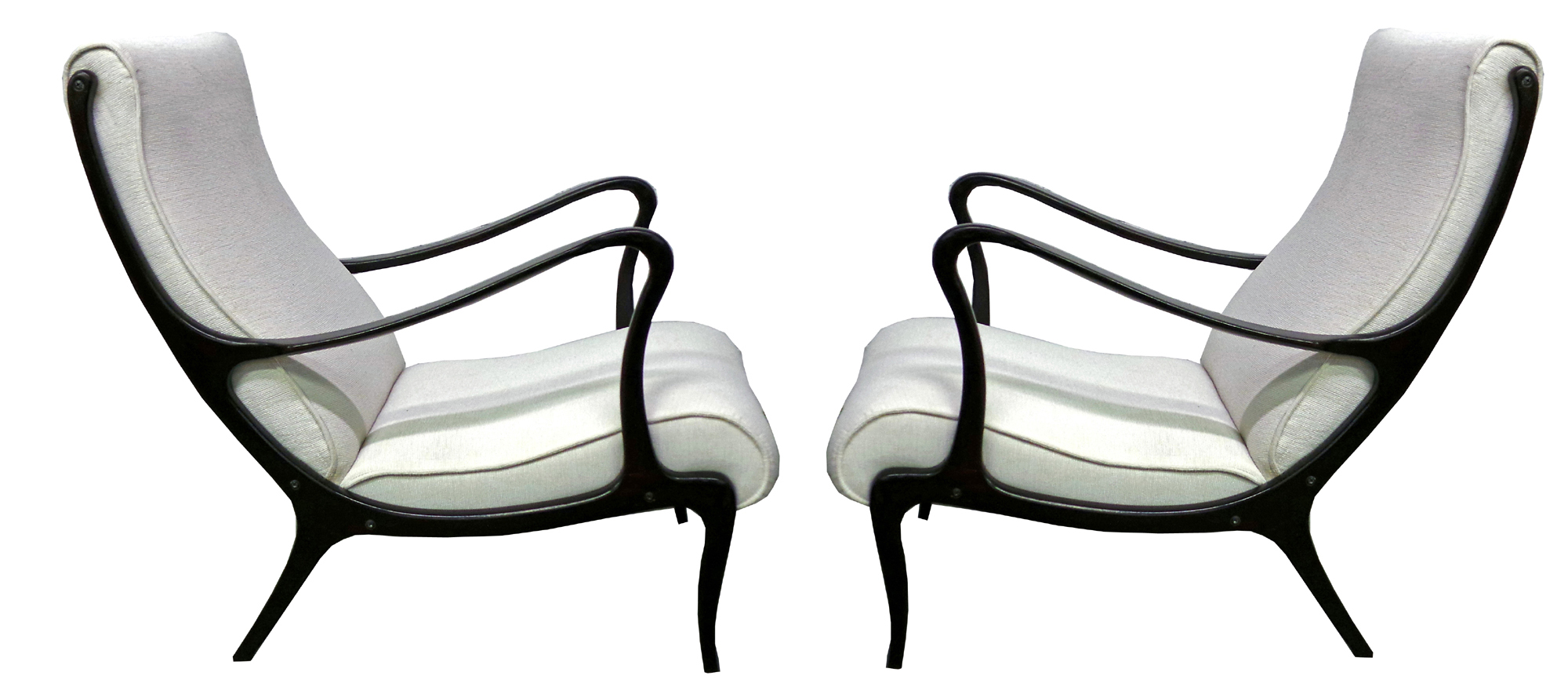 Pair Austrian Art Deco Lounge Chairs Or Armchairs Modernism