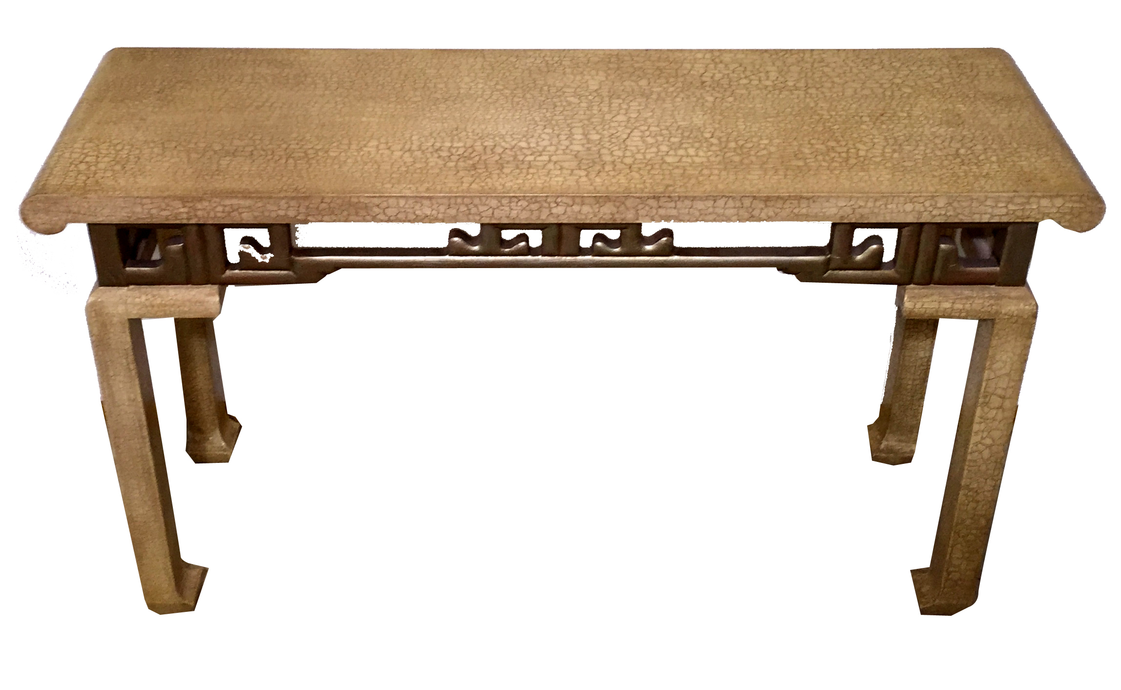 1975 Vintage Baker Asian Inspired Console Table