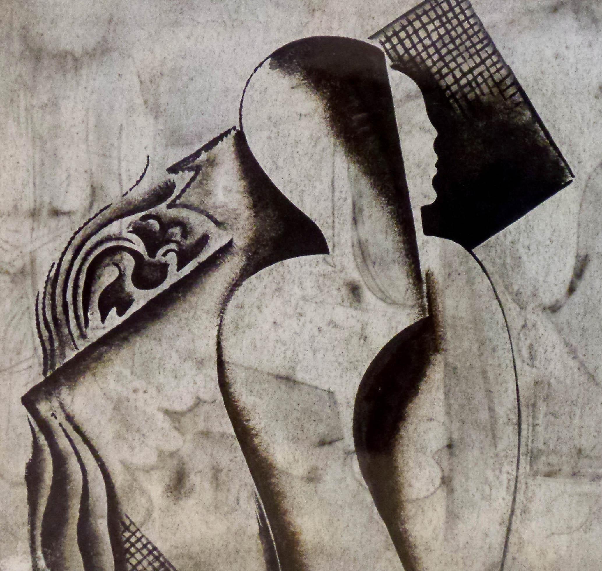 Bella Kadar Figurliche Szenen Modernism
