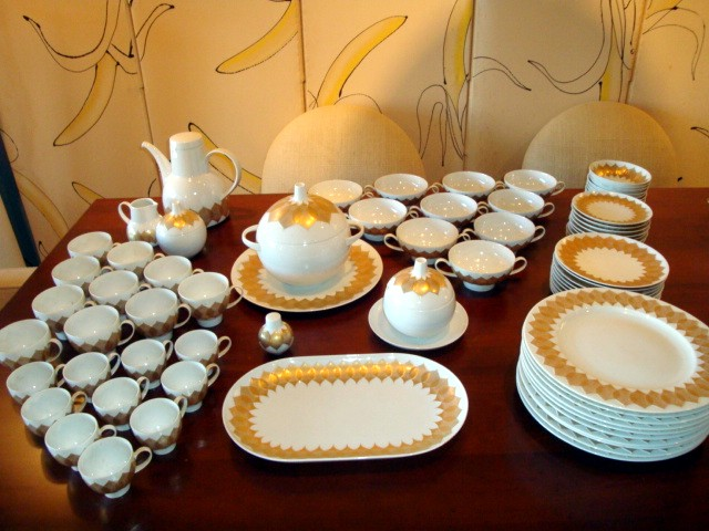 bjorn winblad rosenthal studio line lotus pattern china