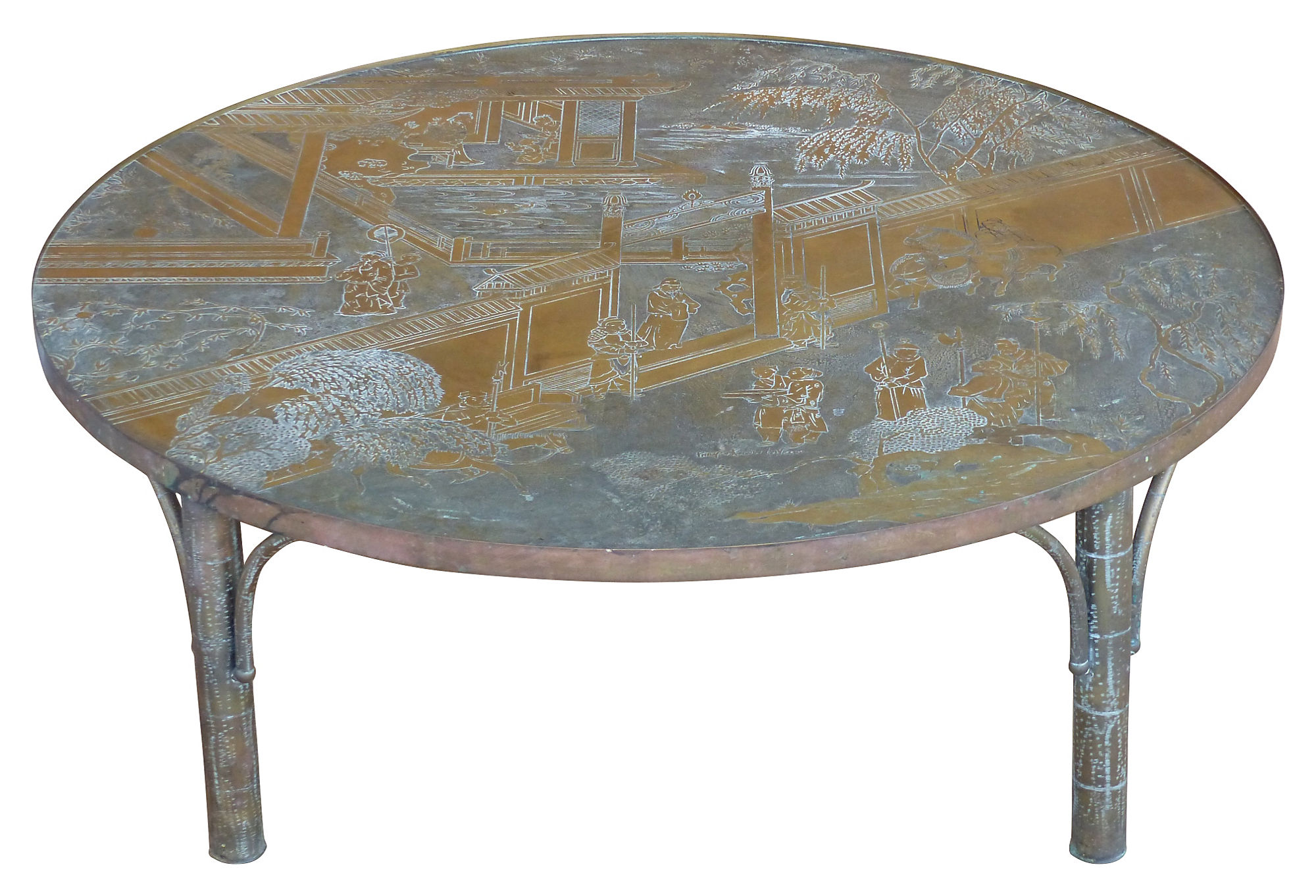 Philip Amp Kelvin Laverne Bronze Chan Coffee Table Modernism