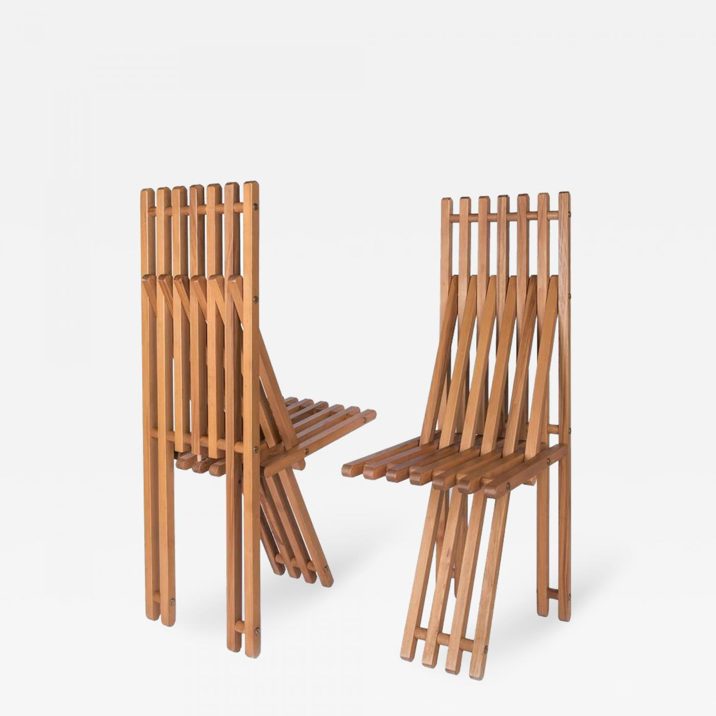 Folding Chairs by Capitini & Palmoni