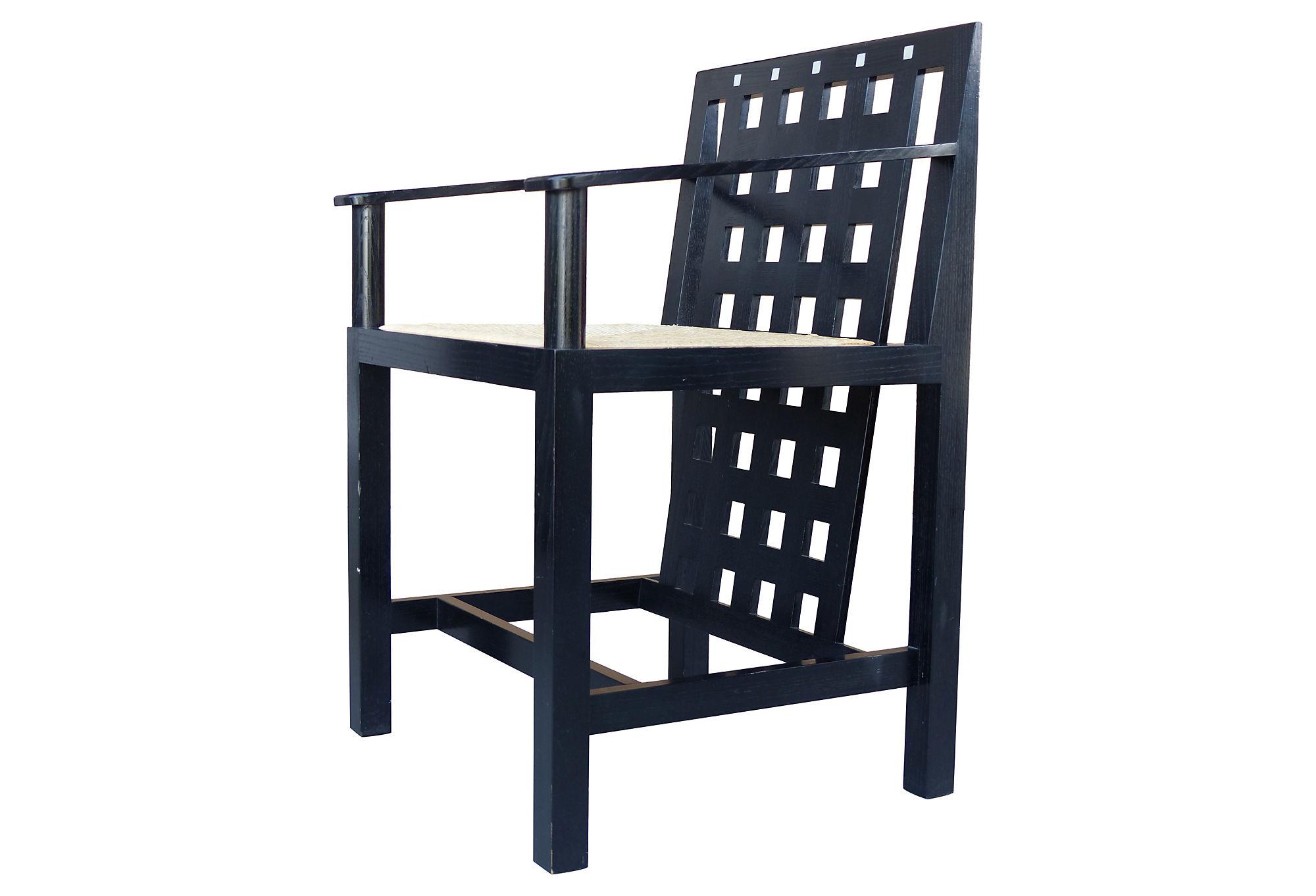 Charles Rennie Mackinstosh Ds3 Chairs 1975 Modernism