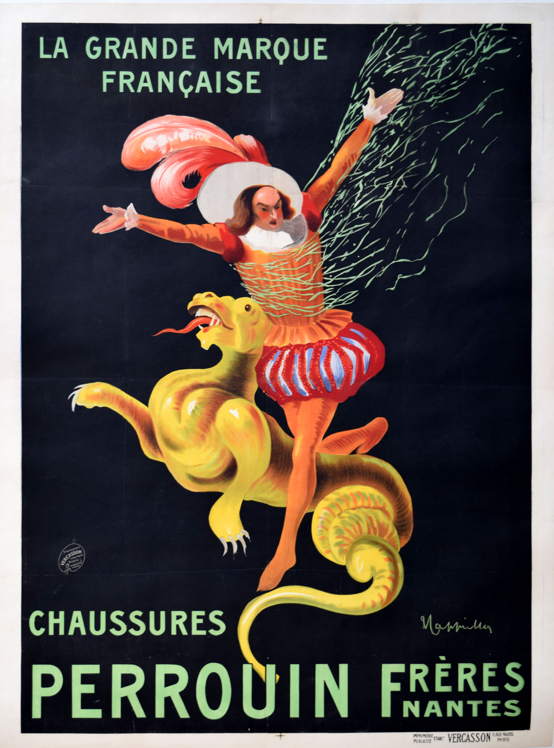 Chaussures Perrouin Cappiello 1935 Art Deco Poster Modernism
