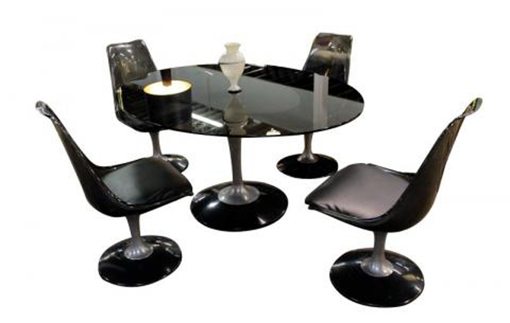 Chromcraft Dining Set Tulip Base