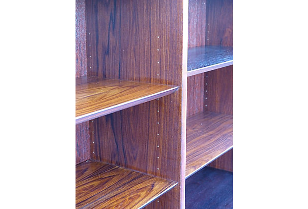 purple bookcase danish modern rosewood bookcase by poul hundevad modernism