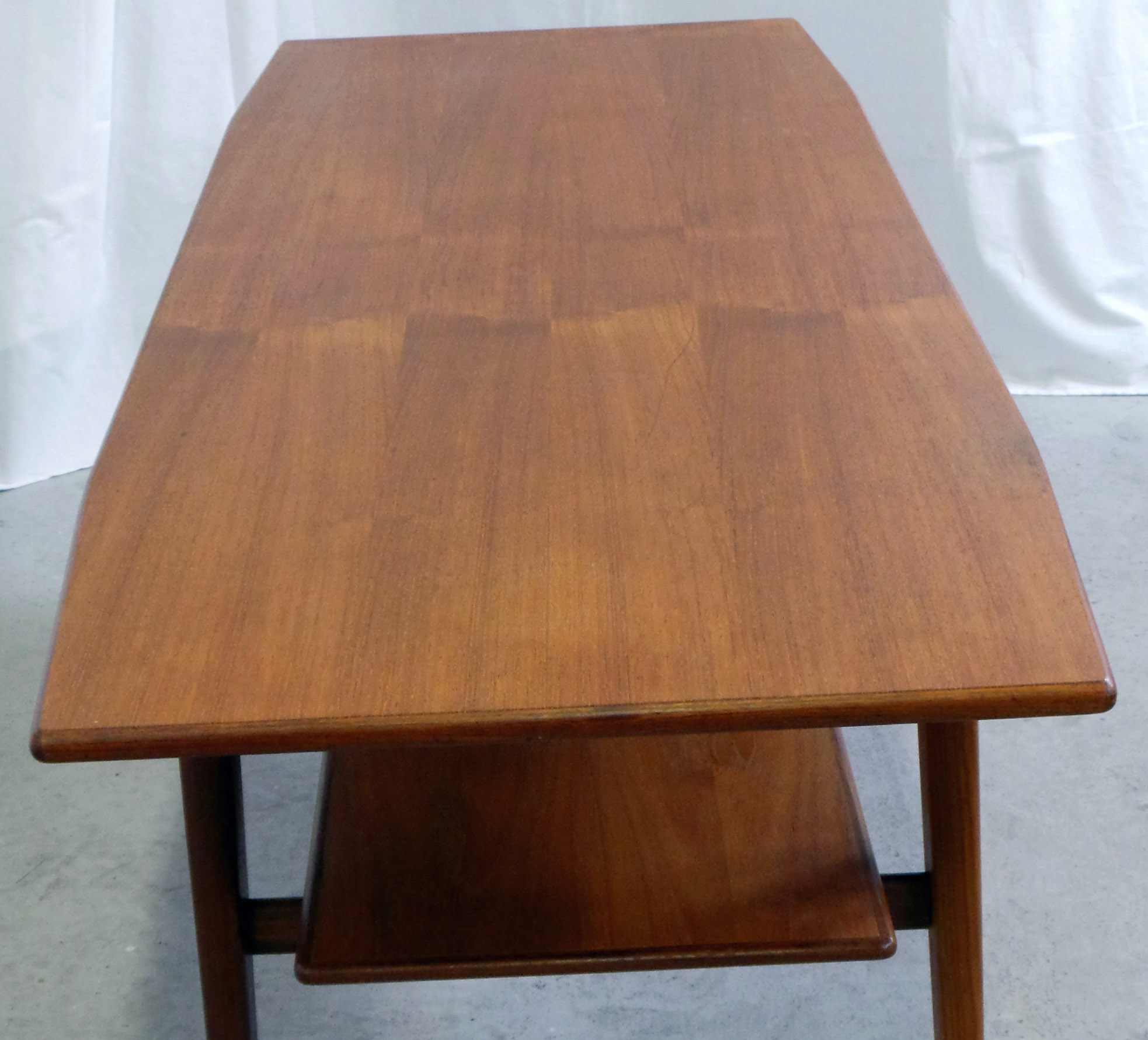 1950 s Danish Modern Teak Coffee Table