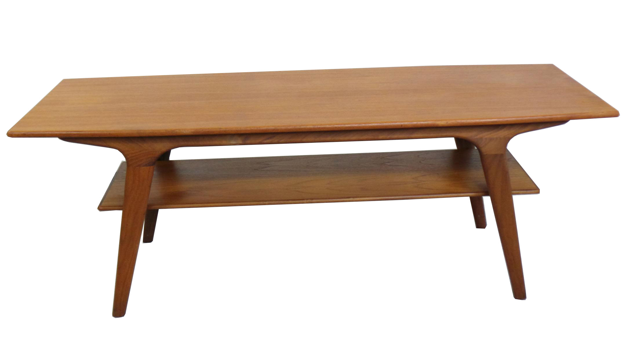 1950 39 s danish modern teak coffee table modernism - Modern table ...