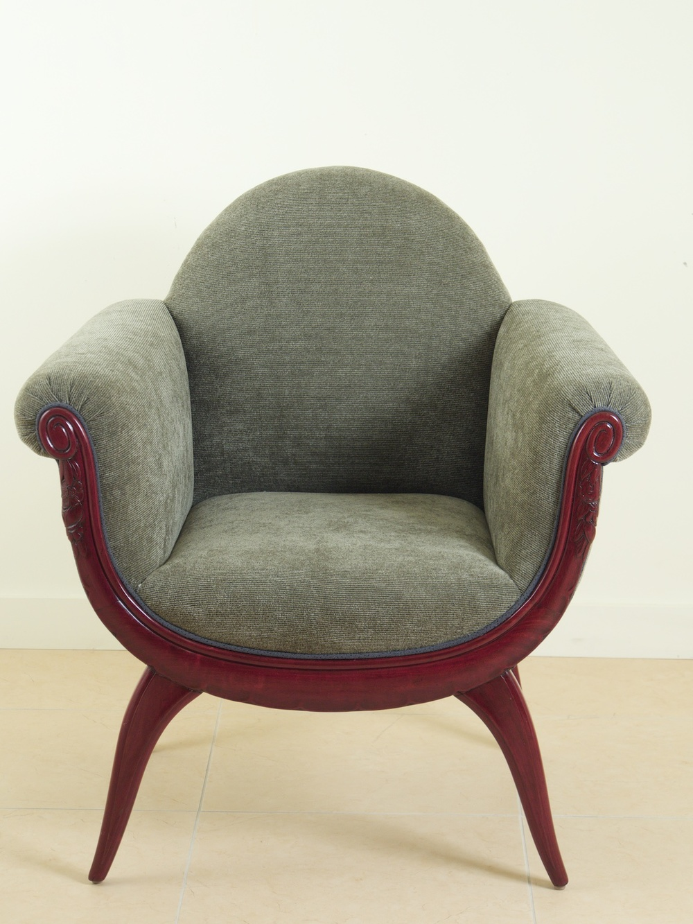 Maurice Dufrene Pair Of Armchairs Modernism