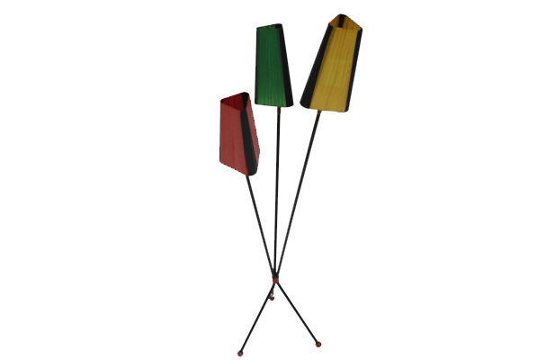 french midcentury modern design floor lamp ca 1950u0027s
