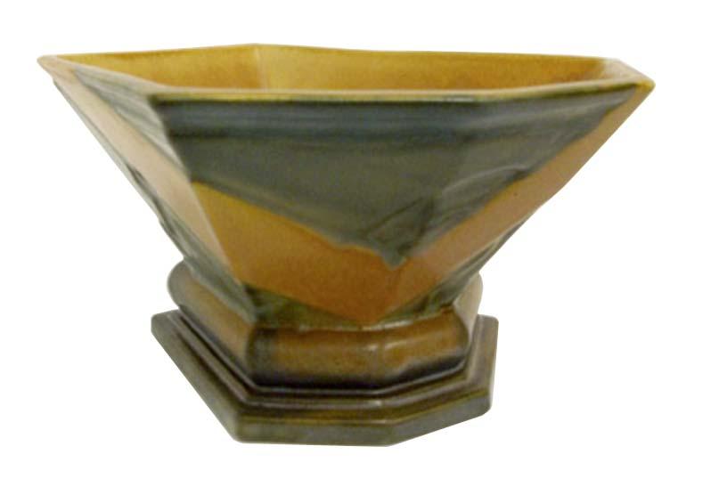 Frank Ferrell Aztec Bowl Roseville American Art Deco Vase