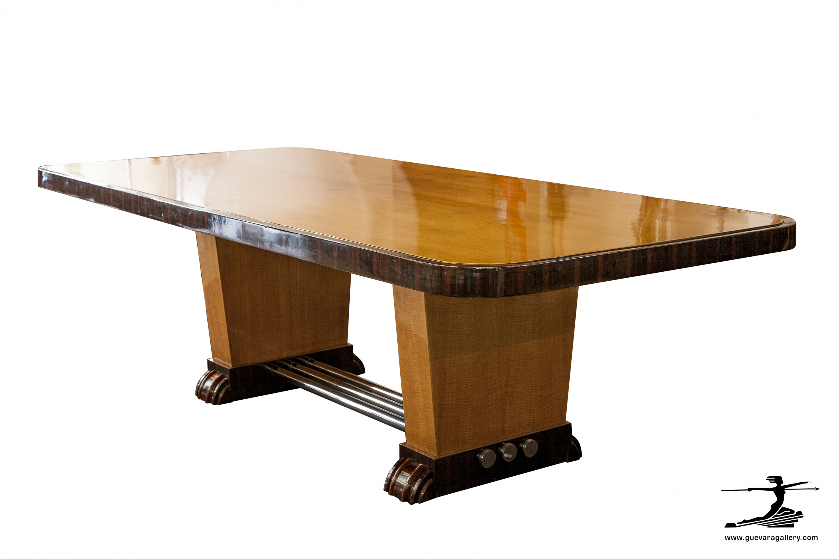 French art deco dining table modernism - Table de nuit art deco ...