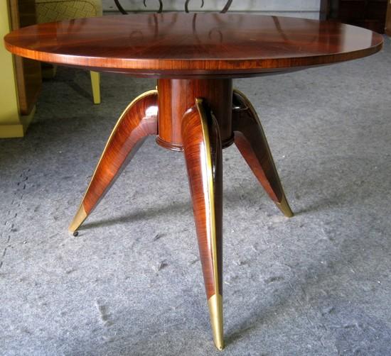 french art deco rosewood gueridon modernism. Black Bedroom Furniture Sets. Home Design Ideas