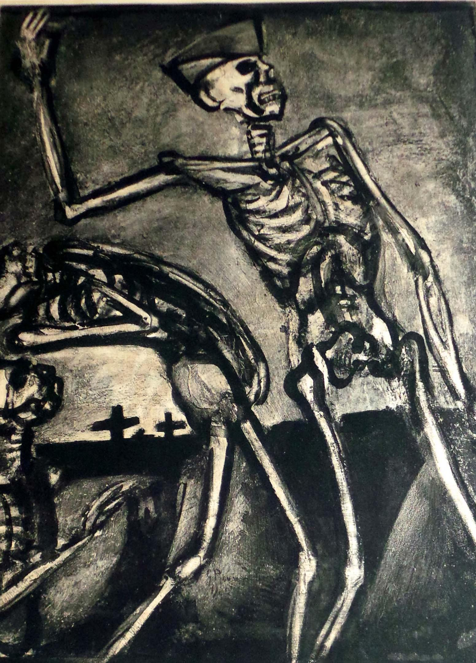 George Rouault Arise You Who Are Dead Modernism