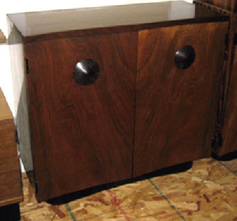A Pair Of American Art Deco Gilbert Rohde Paldao Servers