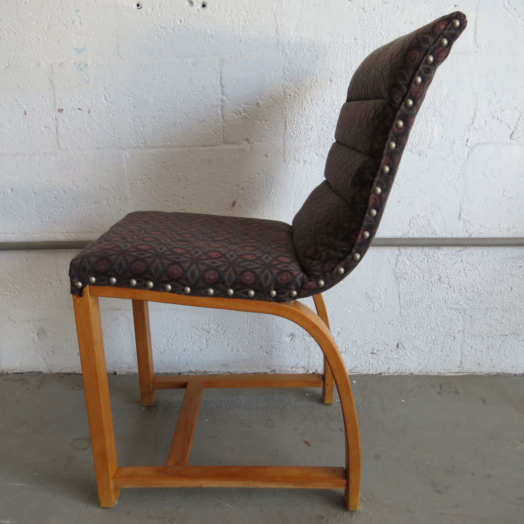 Four American Art Deco Chairs By Gilbert Rohde Modernism