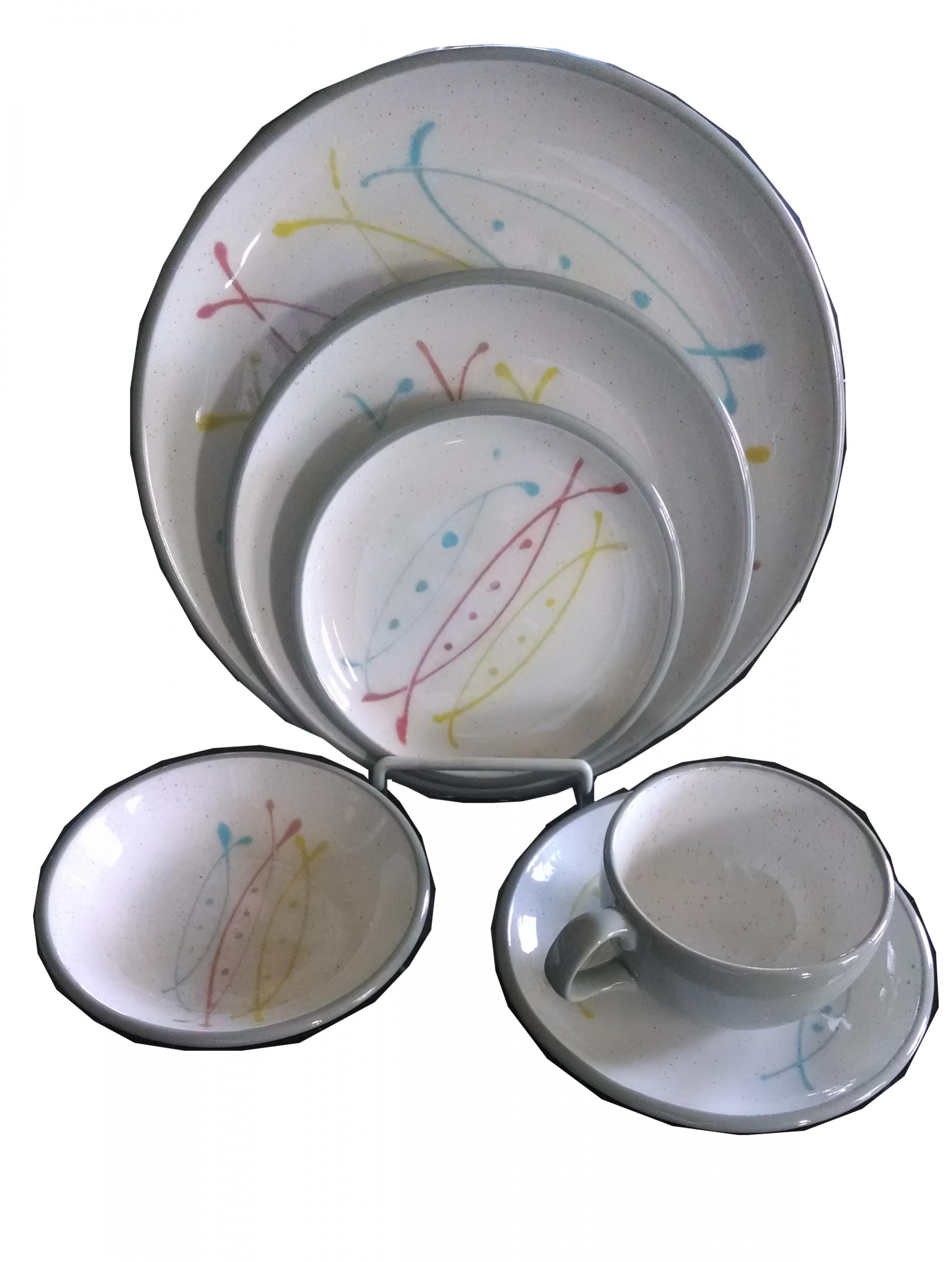 Atomic Age Dinnerware - Service For 8  sc 1 st  Modernism & Atomic Age Dinnerware - Service For 8 | Modernism