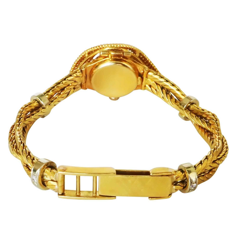 18 Karat Carl Bucherer Band Rolex Precision Watch Bracelet