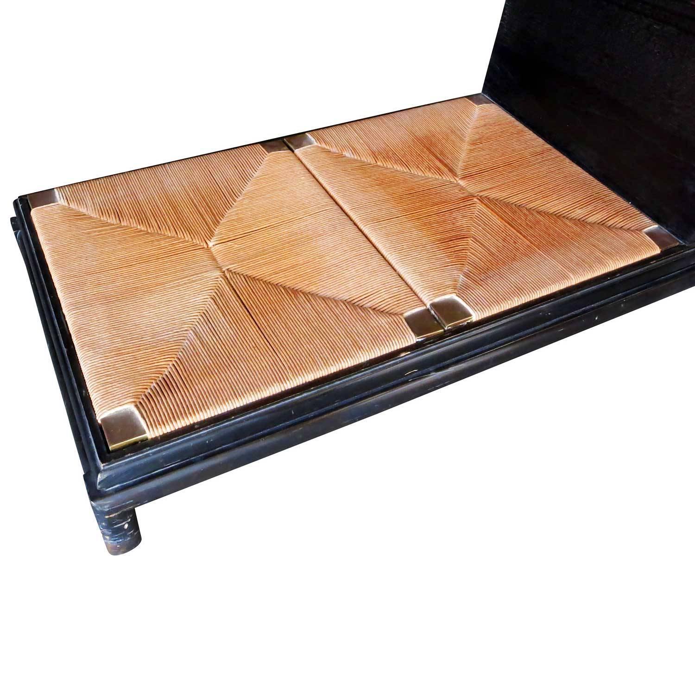 Renzo Rutili Storage Cabinet With Bench Johnson Furniture