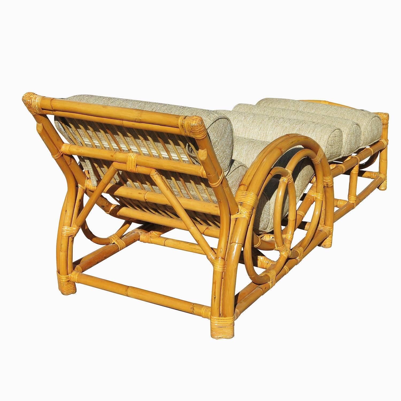 Half Moon Rattan Chaise Longue Chair  sc 1 st  Modernism & Half Moon Rattan Chaise Longue Chair   Modernism