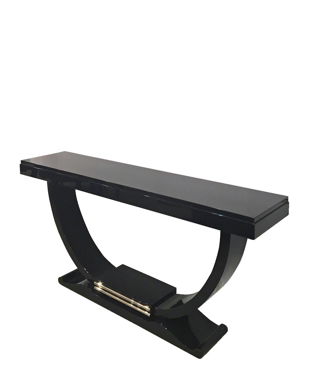 Art Deco U Shape Console Table Modernism