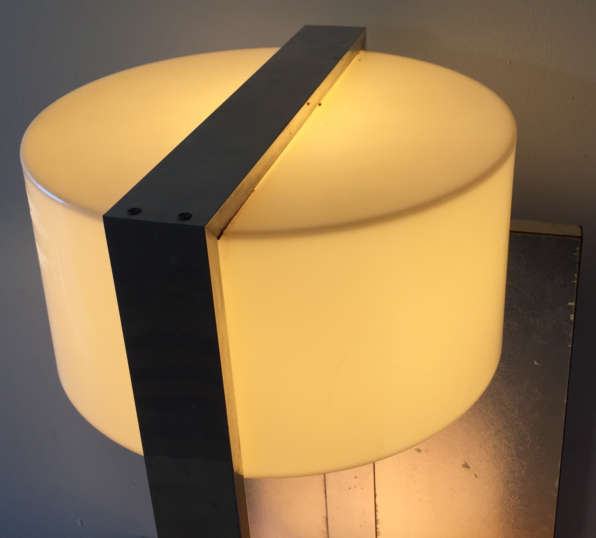 Rare Pair Of Large Raymor Modern Wall Sconces Modernism