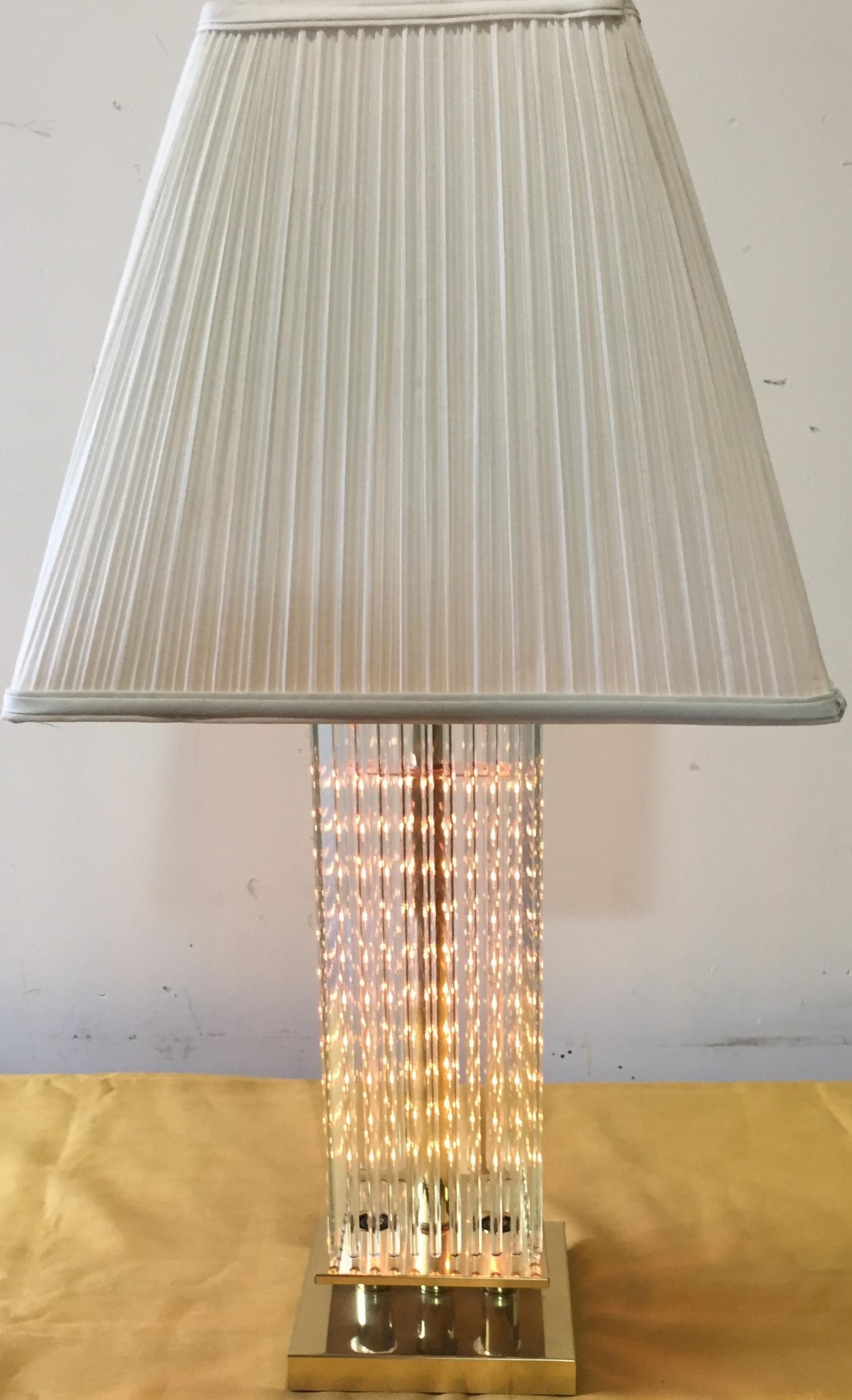 Gaetano Sciolari Table Lamp For Lightolier