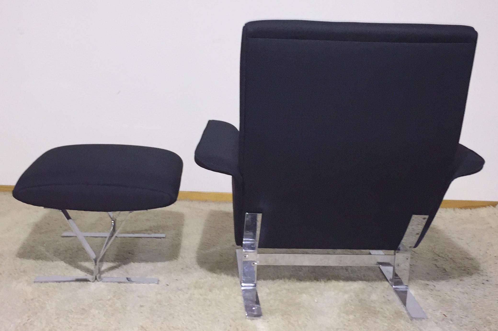danish modern lounge chair ottoman modernism